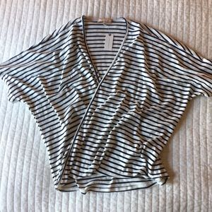 NWT striped Anthropologie top size small.